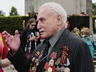 Ветеран Красной армии Давид Душман