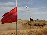 """Военные учения ШОС """"Мирная миссия-2010"""" в Казахстане"""