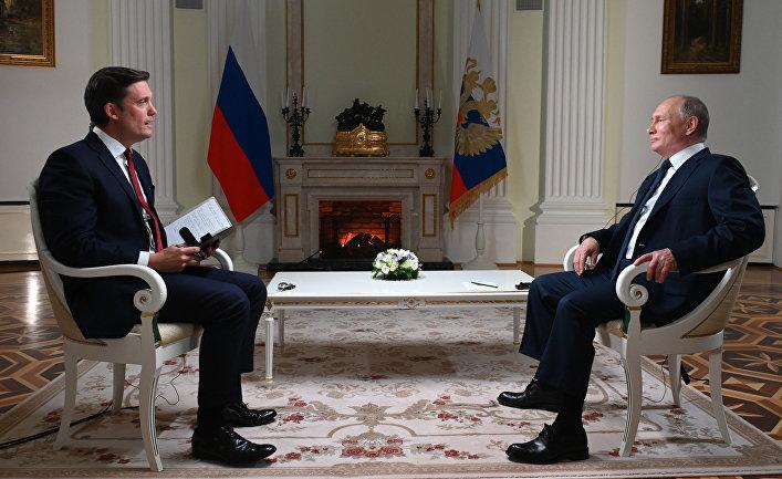 Интервью Путина американскому телеканалу NBC