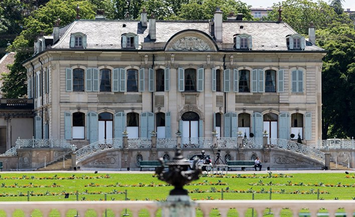 Вилла Ла Грандж в Женеве, где 16 июня пройдет саммит президентов России и США