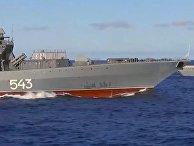 ВМФ России начал крупные учения в Тихом океане