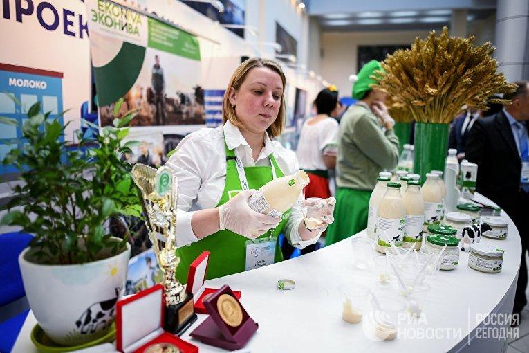 Продукция компании «Эконива». Выставка врамках VМеждународного агропромышленного молочного форума