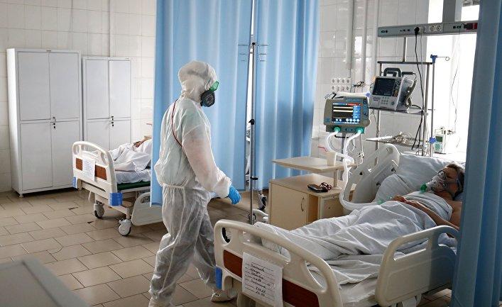 Лечение больных COVID-19 в больнице скорой помощи №7 Волгограда