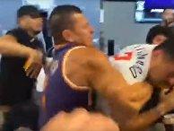 НБА: жестокие драки фанатов