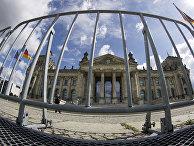 Здание бундестага в Берлине, Германия