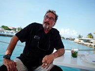 Джон Макафи основатель McAfee Antivirus в Гаване
