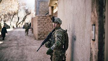 Американский солдат, Герат, Афганистан