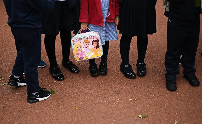 Лондонские школьники