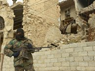 Ситуация в районе города Алеппо в Сирии