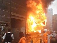 Видео: взрыв прогремел в лондонском метро