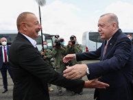 Визит президента Турции Р. Эрдогана в Азербайджан