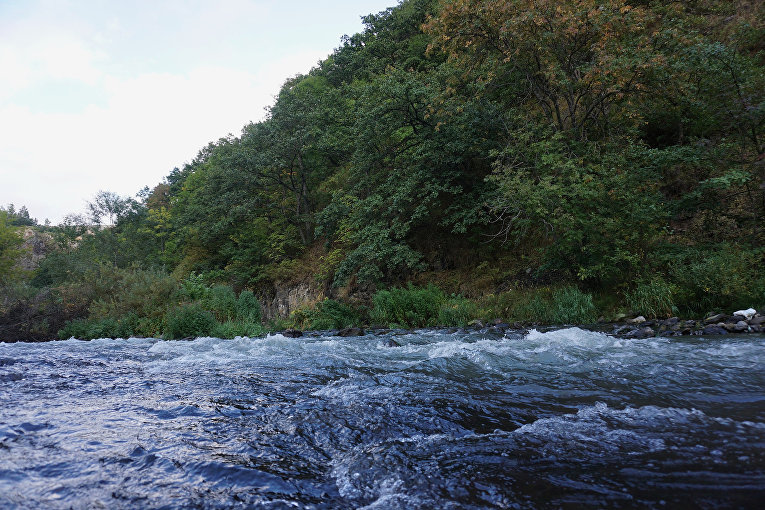 Река Арпа в Армении