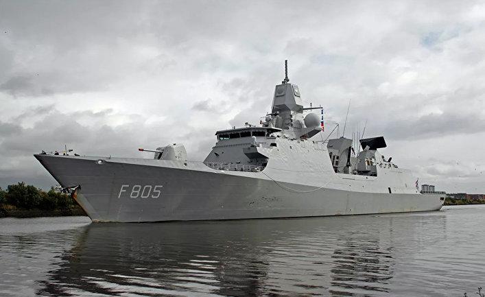 Фрегат ВМС Нидерландов Evertsen