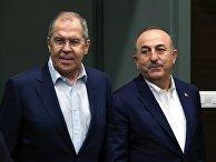Визит главы МИД РФ С. Лаврова в Турцию