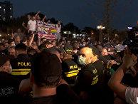 Параллельно мероприятию «Тбилиси Прайда» были задержаны 23 участника контракции
