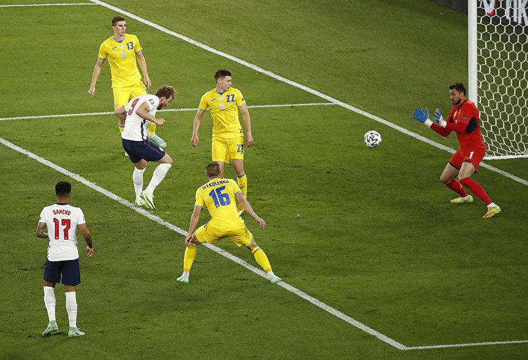 ЧЕ-2020 Матч Украина - Англия