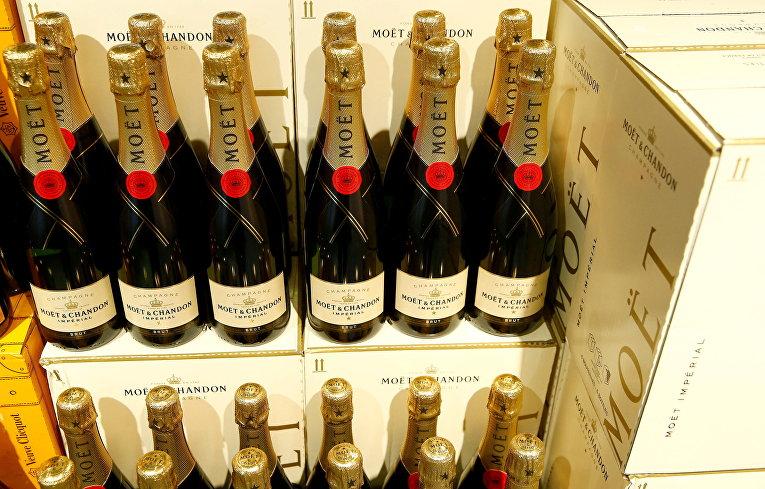 Шампанское Moët