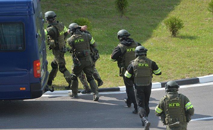 Антитеррористические учения спецназа КГБ Белоруссии
