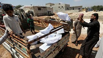 Гуманитарная помощь в Идлибе, Сирия