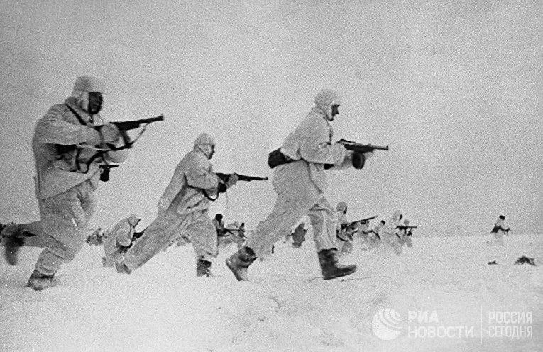 Великая Отечественная война 1941-1945 гг. Оборона Москвы. Бои на Можайском направлении