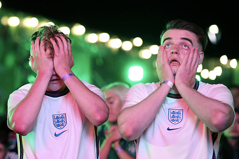 Евро-2020. Британские болельщики