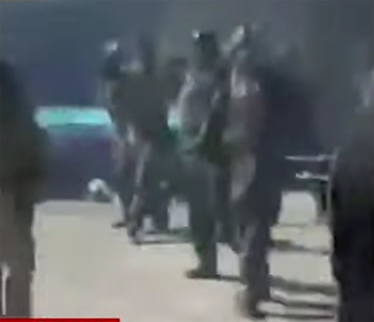 Video shows 22 Afghan commandos executed by the Taliban