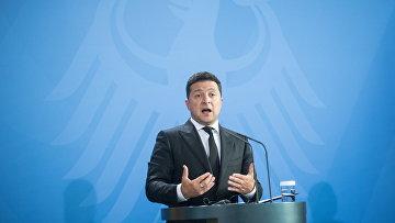 Президент Украины Владимир Зеленский в Берлине