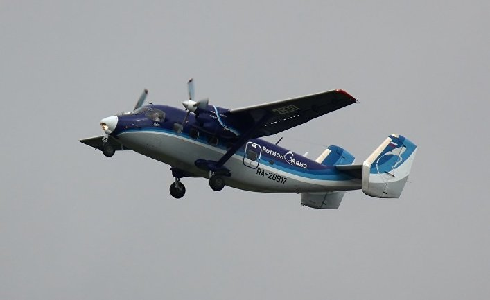 Пассажирский самолёт Ан-28