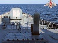 """Фрегат """"Адмирал Горшков"""" успешно произвёл выстрел гиперзвуковой ракетой """"Циркон"""""""