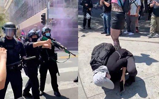 Лос-Анджелес протесты против трансгендеров