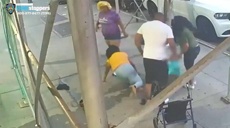 Преступники жестоко избили женщину кастрюлей