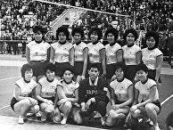 Женская команда Японии по волейболу