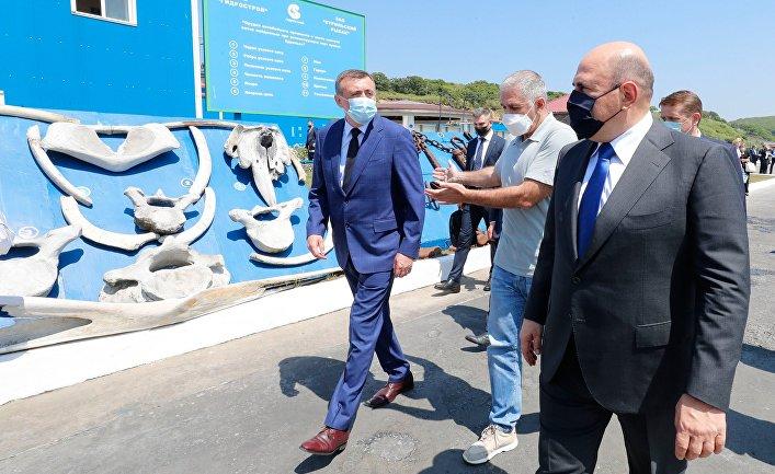 Рабочая поездка премьер-министра РФ М. Мишустина в Дальневосточный федеральный округ