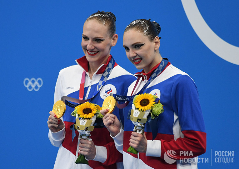 Олимпиада-2020. Синхронное плавание. Дуэт. Произвольная программа