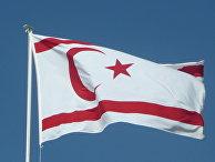 Флаг Турецкой республики Северного Кипра