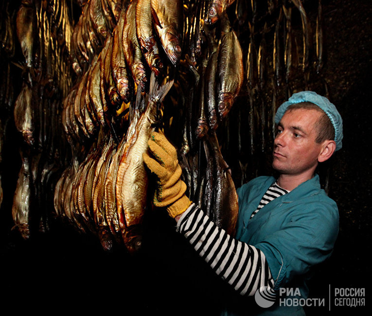 Производство копченой рыбы в Приморском крае