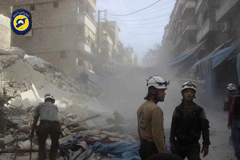 """Белые каски"" в Алеппо"