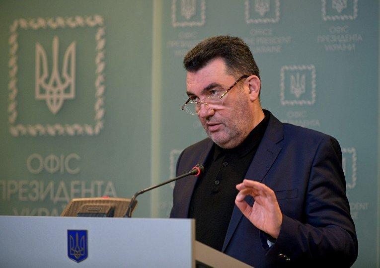 Украинский политический деятель Алексей Данилов
