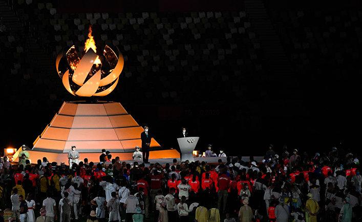 Церемония закрытия XXXII летних Олимпийских игр в Токио