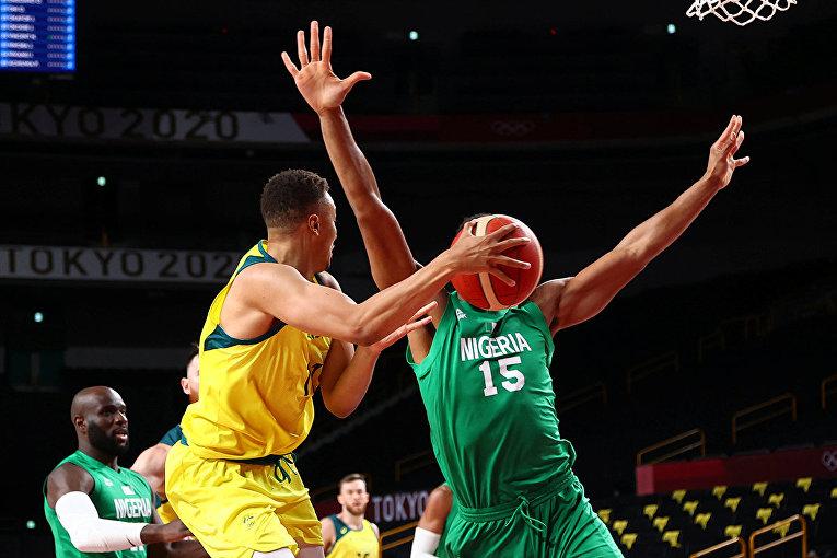 Австралия против Нигерии. Баскетбол