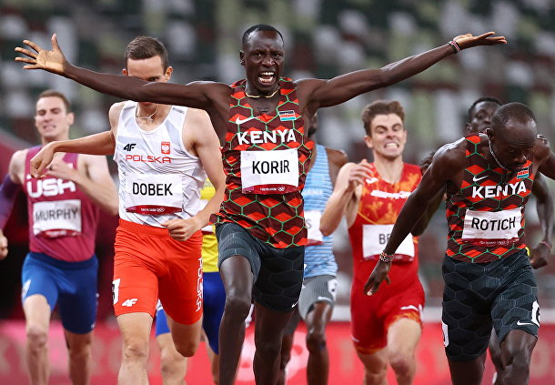 Легкая атлетика - Дистанция 800 м - Финал