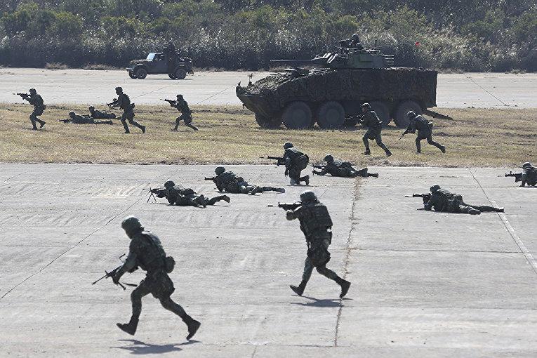 Военные учения в Синьчжу, Тайвань