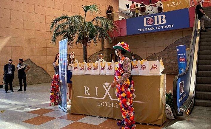 Возобновление авиасообщения на курорты Египта