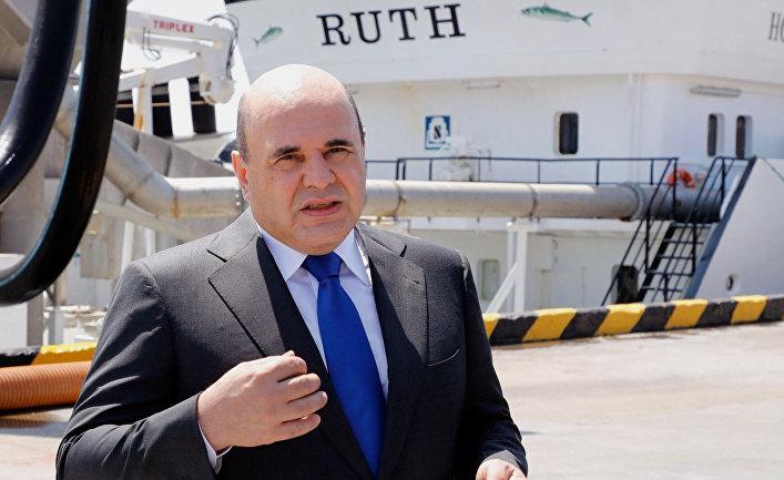 Премьер-министр РФ Михаил Мишустин на южнокурильском острове Итуруп