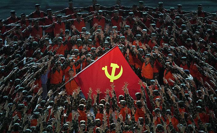 Празднование 100-летия основания Коммунистической партии Китая в Пекине