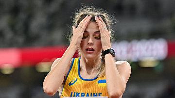 Бронзовая медалистка Ярослава Магучих из Украины на ОИ в Токио