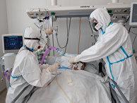 Лечение больных COVID-19 в ГКБ №40