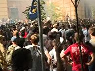 Столкновения в Киеве у офиса президента