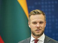 Министр иностранных дел Литвы Габриэлюс Ландсбергис