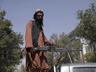 """Боевик движения """"Талибан""""* в Кабуле, Афганистан"""
